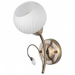 Бра TopLightС 1 лампой<br>Артикул - TPL_TL3540B-01AB,Бренд - TopLight (Россия),Коллекция - Beryl,Гарантия, месяцы - 24,Высота, мм - 260,Размер упаковки, мм - 180x470x950,Тип лампы - компактная люминесцентная [КЛЛ] ИЛИнакаливания ИЛИсветодиодная [LED],Общее кол-во ламп - 1,Напряжение питания лампы, В - 220,Максимальная мощность лампы, Вт - 60,Лампы в комплекте - отсутствуют,Цвет плафонов и подвесок - белый полосатый, неокрашенный,Тип поверхности плафонов - матовый, прозрачный, рельефный,Материал плафонов и подвесок - стекло,Цвет арматуры - бронза античная,Тип поверхности арматуры - матовый,Материал арматуры - металл,Возможность подлючения диммера - можно, если установить лампу накаливания,Тип цоколя лампы - E14,Класс электробезопасности - I,Степень пылевлагозащиты, IP - 20,Диапазон рабочих температур - комнатная температура,Дополнительные параметры - способ крепления светильника к стене - на монтажной пластине, светильник предназначен для использования со скрытой проводкой<br>