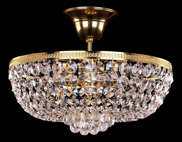 Фото Люстра на штанге Bohemia Ivele Crystal 1928 1928/25/G