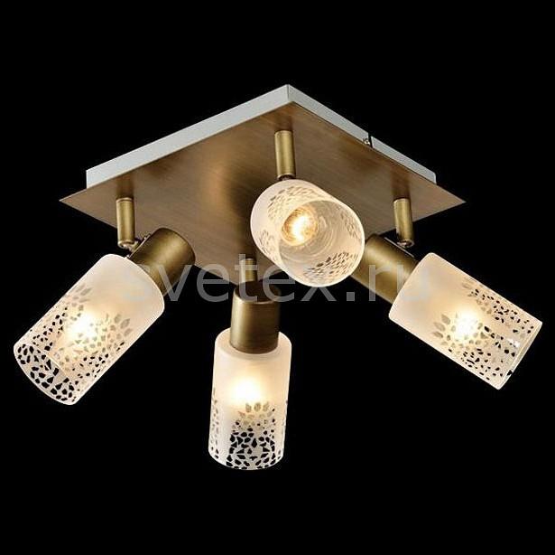 Спот EurosvetКвадратные<br>Артикул - EV_77333,Бренд - Eurosvet (Китай),Коллекция - Норд,Гарантия, месяцы - 24,Длина, мм - 320,Ширина, мм - 320,Выступ, мм - 170,Тип лампы - компактная люминесцентная [КЛЛ] ИЛИнакаливания ИЛИсветодиодная [LED],Общее кол-во ламп - 4,Напряжение питания лампы, В - 220,Максимальная мощность лампы, Вт - 40,Лампы в комплекте - отсутствуют,Цвет плафонов и подвесок - белый с неокрашенным рисунком,Тип поверхности плафонов - матовый,Материал плафонов и подвесок - стекло,Цвет арматуры - бронза,Тип поверхности арматуры - матовый,Материал арматуры - металл,Количество плафонов - 4,Возможность подлючения диммера - можно, если установить лампу накаливания,Тип цоколя лампы - E14,Класс электробезопасности - I,Общая мощность, Вт - 160,Степень пылевлагозащиты, IP - 20,Диапазон рабочих температур - комнатная температура,Дополнительные параметры - поворотный светильник<br>