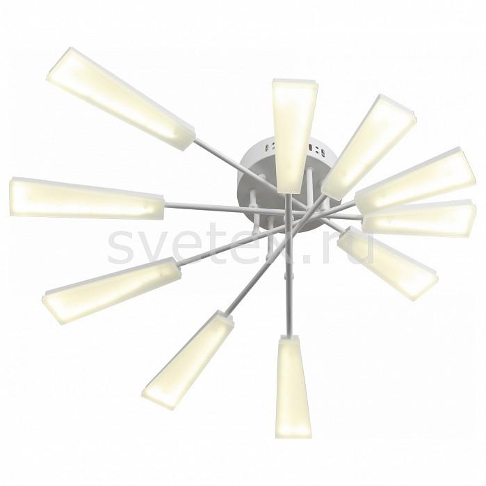 Потолочная люстра ST-LuceПолимерные плафоны<br>Артикул - SL935.502.10,Бренд - ST-Luce (Италия),Коллекция - Venta,Гарантия, месяцы - 24,Длина, мм - 710,Ширина, мм - 480,Высота, мм - 170,Размер упаковки, мм - 700x700x200,Тип лампы - светодиодная [LED],Общее кол-во ламп - 10,Максимальная мощность лампы, Вт - 6,Цвет лампы - белый,Лампы в комплекте - светодиодные [LED],Цвет плафонов и подвесок - белый,Тип поверхности плафонов - матовый,Материал плафонов и подвесок - акрил,Цвет арматуры - белый,Тип поверхности арматуры - матовый,Материал арматуры - металл,Количество плафонов - 10,Возможность подлючения диммера - нельзя,Цветовая температура, K - 4000 K,Экономичнее лампы накаливания - в 10 раз,Класс электробезопасности - I,Напряжение питания, В - 220,Общая мощность, Вт - 60,Степень пылевлагозащиты, IP - 20,Диапазон рабочих температур - комнатная температура,Дополнительные параметры - способ крепления светильника к потолку - на монтажной пластине<br>