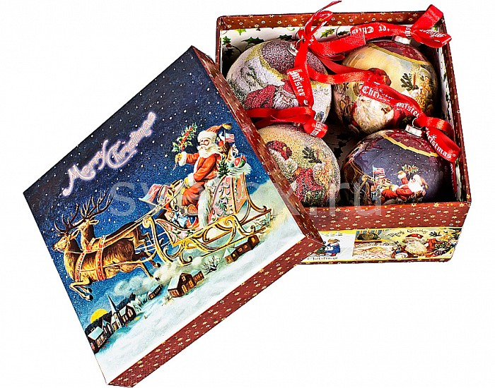 Фото Елочный шар Mister Christmas PM-41