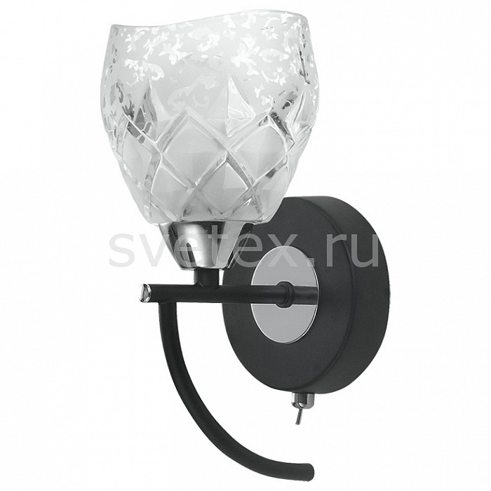 Фото Бра IDLamp 381 381/1A-Blackchrome