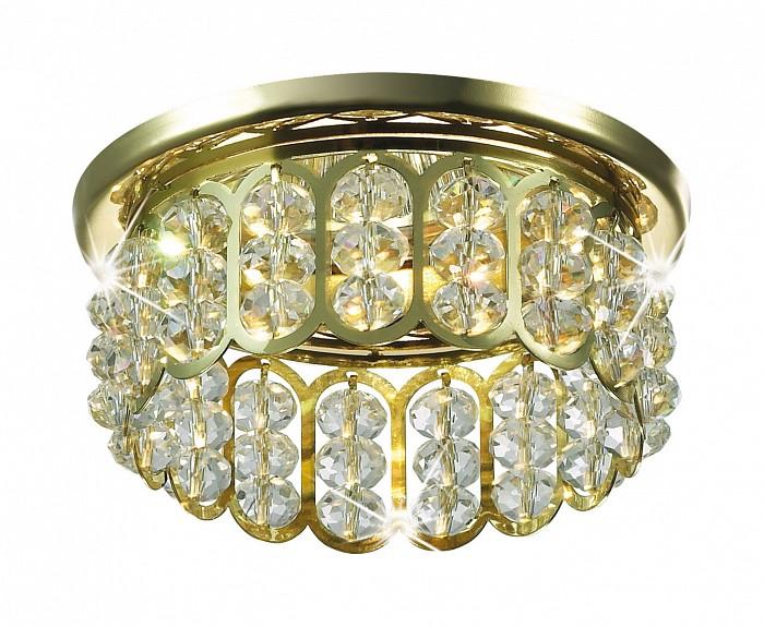 Встраиваемый светильник NovotechХрустальные<br>Артикул - NV_369494,Бренд - Novotech (Венгрия),Коллекция - Versal,Гарантия, месяцы - 24,Время изготовления, дней - 1,Глубина, мм - 30,Диаметр, мм - 80,Размер врезного отверстия, мм - 60,Тип лампы - галогеновая ИЛИсветодиодная [LED],Общее кол-во ламп - 1,Напряжение питания лампы, В - 12,Максимальная мощность лампы, Вт - 50,Лампы в комплекте - отсутствуют,Цвет плафонов и подвесок - золото, неокрашенный,Тип поверхности плафонов - прозрачный,Материал плафонов и подвесок - металл, хрусталь,Цвет арматуры - золото,Тип поверхности арматуры - глянцевый,Материал арматуры - металл,Количество плафонов - 1,Возможность подлючения диммера - можно, если установить галогеновую лампу,Форма и тип колбы - полусферическая с рефлектором ИЛИполусферическая с радиатором,Тип цоколя лампы - GX5.3,Экономичнее лампы накаливания - на 50%,Класс электробезопасности - I,Напряжение питания, В - 220,Степень пылевлагозащиты, IP - 20,Диапазон рабочих температур - комнатная температура,Дополнительные параметры - возможна установка лампы GX5.3 (MR-16) на 12 В с подключением через трансформатор 12 В<br>