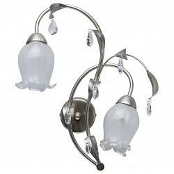 Бра MW-LightБолее 1 лампы<br>Артикул - MW_303022402,Бренд - MW-Light (Германия),Коллекция - Эллегия 7,Гарантия, месяцы - 24,Время изготовления, дней - 1,Высота, мм - 440,Тип лампы - компактная люминесцентная [КЛЛ] ИЛИнакаливания ИЛИсветодиодная [LED],Общее кол-во ламп - 2,Напряжение питания лампы, В - 220,Максимальная мощность лампы, Вт - 40,Лампы в комплекте - отсутствуют,Цвет плафонов и подвесок - белый, неокрашенный,Тип поверхности плафонов - матовый,Материал плафонов и подвесок - стекло, хрусталь,Цвет арматуры - серебро античное,Тип поверхности арматуры - матовый,Материал арматуры - металл,Возможность подлючения диммера - можно, если установить лампу накаливания,Тип цоколя лампы - E14,Класс электробезопасности - I,Общая мощность, Вт - 80,Степень пылевлагозащиты, IP - 20,Диапазон рабочих температур - комнатная температура,Дополнительные параметры - светильник предназначен для использования со скрытой проводкой<br>