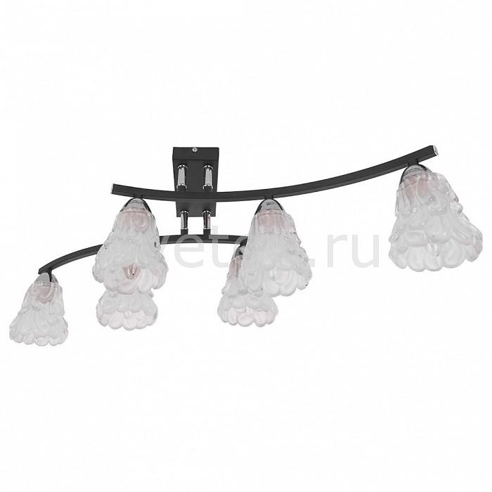 Потолочная люстра IDLampЛюстры<br>Артикул - ID_217_6PF-Blackchrome,Бренд - IDLamp (Италия),Коллекция - 217,Время изготовления, дней - 1,Длина, мм - 660,Ширина, мм - 450,Высота, мм - 220,Тип лампы - компактная люминесцентная [КЛЛ] ИЛИнакаливания ИЛИсветодиодная [LED],Общее кол-во ламп - 6,Напряжение питания лампы, В - 220,Максимальная мощность лампы, Вт - 60,Лампы в комплекте - отсутствуют,Цвет плафонов и подвесок - неокрашенный,Тип поверхности плафонов - матовый, рельефный,Материал плафонов и подвесок - стекло,Цвет арматуры - хром, черный,Тип поверхности арматуры - глянцевый, матовый,Материал арматуры - металл,Количество плафонов - 6,Возможность подлючения диммера - можно, если установить лампу накаливания,Тип цоколя лампы - E14,Класс электробезопасности - I,Общая мощность, Вт - 360,Степень пылевлагозащиты, IP - 20,Диапазон рабочих температур - комнатная температура,Дополнительные параметры - способ крепления светильника к потолку – на монтажной пластине<br>