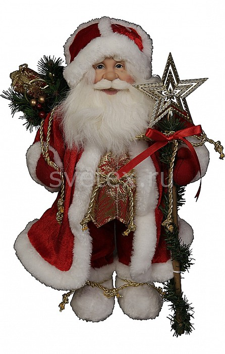 Фото Дед Мороз Mister Christmas x 40 см Дед Мороз