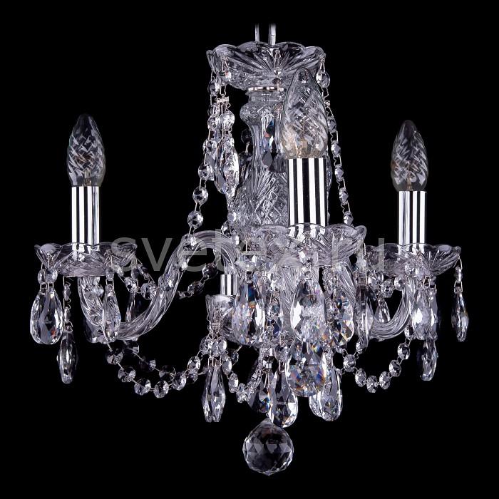 Фото Подвесная люстра Bohemia Ivele Crystal 1406 1406/3/141/Ni