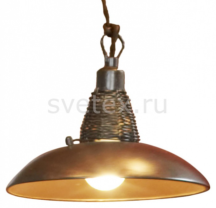 Подвесной светильник LussoleБарные<br>Артикул - LSN-1076-01,Бренд - Lussole (Италия),Коллекция - Ancona,Гарантия, месяцы - 24,Время изготовления, дней - 1,Высота, мм - 1800,Диаметр, мм - 210,Тип лампы - компактная люминесцентная [КЛЛ] ИЛИнакаливания ИЛИсветодиодная [LED],Общее кол-во ламп - 1,Напряжение питания лампы, В - 220,Максимальная мощность лампы, Вт - 40,Лампы в комплекте - отсутствуют,Цвет плафонов и подвесок - кофейный,Тип поверхности плафонов - матовый,Материал плафонов и подвесок - металл,Цвет арматуры - кофейный, медь,Тип поверхности арматуры - матовый,Материал арматуры - металл,Количество плафонов - 1,Возможность подлючения диммера - можно, если установить лампу накаливания,Тип цоколя лампы - E14,Класс электробезопасности - I,Степень пылевлагозащиты, IP - 20,Диапазон рабочих температур - комнатная температура<br>