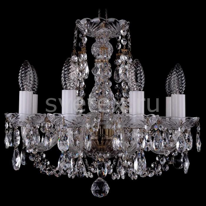 Фото Подвесная люстра Bohemia Ivele Crystal 1406 1406/8/141/Pa