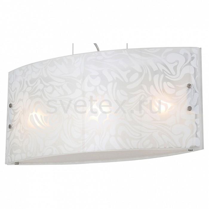 Подвесной светильник ST-LuceСветодиодные<br>Артикул - SL475.503.03,Бренд - ST-Luce (Китай),Коллекция - SL475,Гарантия, месяцы - 24,Время изготовления, дней - 1,Длина, мм - 600,Ширина, мм - 180,Высота, мм - 270-1200,Размер упаковки, мм - 660х250х320,Тип лампы - компактная люминесцентная [КЛЛ] ИЛИнакаливания ИЛИсветодиодная [LED],Общее кол-во ламп - 3,Напряжение питания лампы, В - 220,Максимальная мощность лампы, Вт - 60,Лампы в комплекте - отсутствуют,Цвет плафонов и подвесок - белый с рисунком,Тип поверхности плафонов - матовый, прозрачный,Материал плафонов и подвесок - стекло,Цвет арматуры - хром,Тип поверхности арматуры - глянцевый,Материал арматуры - металл,Количество плафонов - 1,Возможность подлючения диммера - можно, если установить лампу накаливания,Тип цоколя лампы - E27,Класс электробезопасности - I,Общая мощность, Вт - 180,Степень пылевлагозащиты, IP - 20,Диапазон рабочих температур - комнатная температура,Дополнительные параметры - регулируется по высоте,  способ крепления светильника к потолку – на монтажной пластине<br>