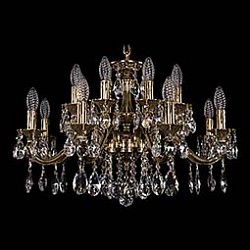 Подвесная люстра Bohemia Ivele CrystalБолее 6 ламп<br>Артикул - BI_1703_16_225_A_GB,Бренд - Bohemia Ivele Crystal (Чехия),Коллекция - 1703,Гарантия, месяцы - 24,Высота, мм - 370,Диаметр, мм - 660,Размер упаковки, мм - 710x710x240,Тип лампы - компактная люминесцентная [КЛЛ] ИЛИнакаливания ИЛИсветодиодная [LED],Общее кол-во ламп - 14,Напряжение питания лампы, В - 220,Максимальная мощность лампы, Вт - 40,Лампы в комплекте - отсутствуют,Цвет плафонов и подвесок - неокрашенный,Тип поверхности плафонов - прозрачный,Материал плафонов и подвесок - хрусталь,Цвет арматуры - золото черненое,Тип поверхности арматуры - глянцевый, рельефный,Материал арматуры - латунь,Возможность подлючения диммера - можно, если установить лампу накаливания,Форма и тип колбы - свеча ИЛИ свеча на ветру,Тип цоколя лампы - E14,Класс электробезопасности - I,Общая мощность, Вт - 560,Степень пылевлагозащиты, IP - 20,Диапазон рабочих температур - комнатная температура,Дополнительные параметры - способ крепления светильника к потолку - на крюке, указана высота светильника без подвеса<br>
