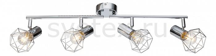 Спот GloboСпоты<br>Артикул - GB_54802-4,Бренд - Globo (Австрия),Коллекция - Xara I,Гарантия, месяцы - 24,Длина, мм - 600,Ширина, мм - 150,Выступ, мм - 93,Размер упаковки, мм - 135х100х340,Тип лампы - компактная люминесцентная [КЛЛ] ИЛИнакаливания ИЛИсветодиодная [LED],Общее кол-во ламп - 4,Напряжение питания лампы, В - 220,Максимальная мощность лампы, Вт - 40,Лампы в комплекте - отсутствуют,Цвет плафонов и подвесок - хром,Тип поверхности плафонов - глянцевый, металлик,Материал плафонов и подвесок - металл,Цвет арматуры - хром,Тип поверхности арматуры - глянцевый, металлик,Материал арматуры - металл,Количество плафонов - 4,Возможность подлючения диммера - можно, если установить лампу накаливания,Тип цоколя лампы - E14,Класс электробезопасности - I,Общая мощность, Вт - 160,Степень пылевлагозащиты, IP - 20,Диапазон рабочих температур - комнатная температура,Дополнительные параметры - поворотный светильник<br>