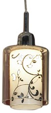 Подвесной светильник LussoleПодвесные светильники<br>Артикул - LSJ-0306-01,Бренд - Lussole (Италия),Коллекция - Fabriano,Гарантия, месяцы - 24,Время изготовления, дней - 1,Высота, мм - 1300,Диаметр, мм - 80,Тип лампы - галогеновая,Общее кол-во ламп - 1,Напряжение питания лампы, В - 220,Максимальная мощность лампы, Вт - 40,Цвет лампы - белый теплый,Лампы в комплекте - галогеновая G9,Цвет плафонов и подвесок - белый с черным рисунком, неокрашенный,Тип поверхности плафонов - матовый, прозрачный,Материал плафонов и подвесок - стекло,Цвет арматуры - хром,Тип поверхности арматуры - глянцевый,Материал арматуры - металл,Количество плафонов - 1,Возможность подлючения диммера - можно,Форма и тип колбы - пальчиковая,Тип цоколя лампы - G9,Цветовая температура, K - 2800 - 3200 K,Экономичнее лампы накаливания - на 50%,Класс электробезопасности - I,Степень пылевлагозащиты, IP - 20,Диапазон рабочих температур - комнатная температура<br>