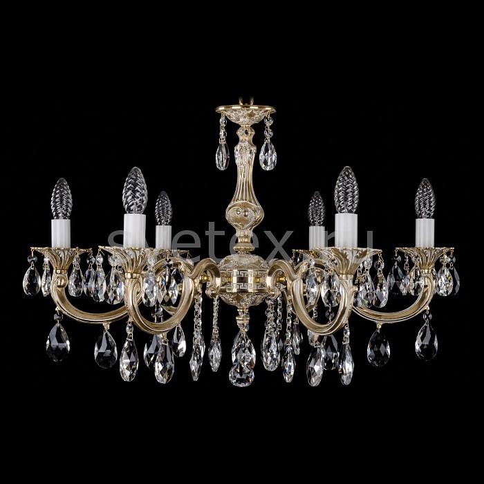 Фото Подвесная люстра Bohemia Ivele Crystal 1702 1702/6/A/GW