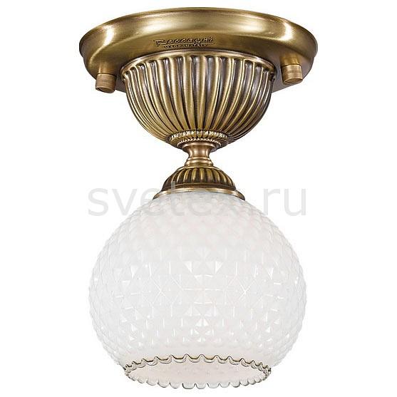 Светильник на штанге Reccagni AngeloКруглые<br>Артикул - RA_PL_8600_1,Бренд - Reccagni Angelo (Италия),Коллекция - 8600,Гарантия, месяцы - 24,Высота, мм - 220,Диаметр, мм - 150,Тип лампы - компактная люминесцентная [КЛЛ] ИЛИнакаливания ИЛИсветодиодная [LED],Общее кол-во ламп - 1,Напряжение питания лампы, В - 220,Максимальная мощность лампы, Вт - 60,Лампы в комплекте - отсутствуют,Цвет плафонов и подвесок - белый,Тип поверхности плафонов - матовый, рельефный,Материал плафонов и подвесок - стекло,Цвет арматуры - бронза состаренная,Тип поверхности арматуры - матовый, рельефный,Материал арматуры - латунь,Количество плафонов - 1,Возможность подлючения диммера - можно, если установить лампу накаливания,Тип цоколя лампы - E27,Класс электробезопасности - I,Степень пылевлагозащиты, IP - 20,Диапазон рабочих температур - комнатная температура,Дополнительные параметры - способ крепления к потолку - на монтажной пластине<br>