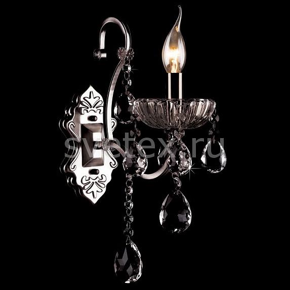 Фото Бра Eurosvet 3108 3108/1 хром/дымчатый хрусталь Strotskis