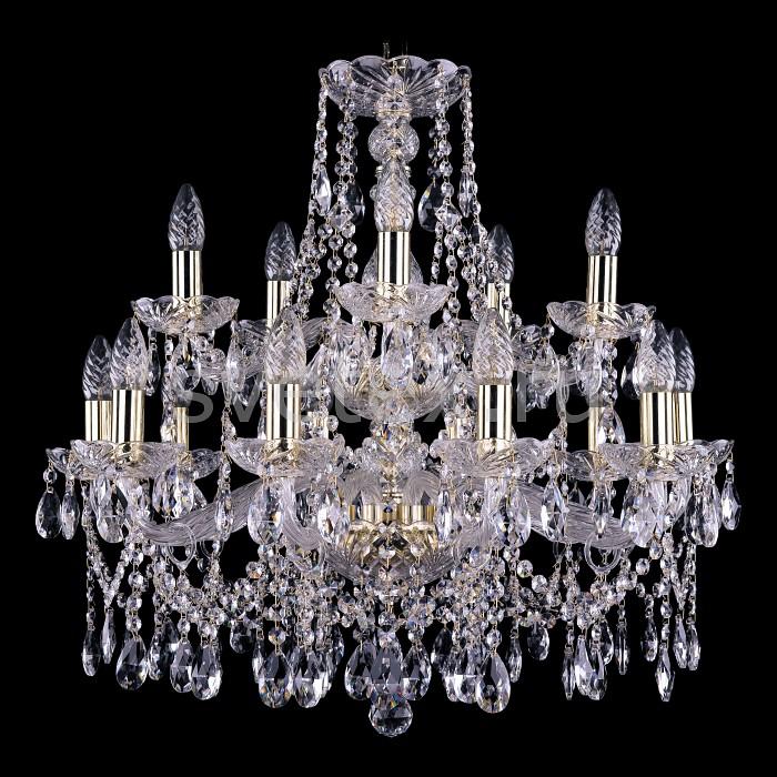 Фото Подвесная люстра Bohemia Ivele Crystal 1413 1413/10_5/220-60/G