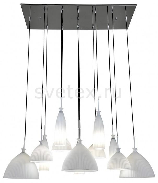 Подвесная люстра LightstarЛюстры<br>Артикул - LS_810220,Бренд - Lightstar (Италия),Коллекция - Agola,Гарантия, месяцы - 24,Длина, мм - 1200,Ширина, мм - 500,Высота, мм - 600-1900,Тип лампы - компактная люминесцентная [КЛЛ] ИЛИнакаливания ИЛИсветодиодная [LED],Общее кол-во ламп - 12,Напряжение питания лампы, В - 220,Максимальная мощность лампы, Вт - 40,Лампы в комплекте - отсутствуют,Цвет плафонов и подвесок - белый,Тип поверхности плафонов - матовый,Материал плафонов и подвесок - стекло,Цвет арматуры - хром,Тип поверхности арматуры - глянцевый,Материал арматуры - металл,Количество плафонов - 12,Возможность подлючения диммера - можно, если установить лампу накаливания,Тип цоколя лампы - E14,Класс электробезопасности - I,Общая мощность, Вт - 600,Степень пылевлагозащиты, IP - 20,Диапазон рабочих температур - комнатная температура,Дополнительные параметры - способ крепления к потолку - на монтажной пластине, регулируется по высоте<br>