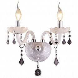 Бра Arte LampБолее 1 лампы<br>Артикул - AR_A8609AP-2WH,Бренд - Arte Lamp (Италия),Коллекция - Harmony,Гарантия, месяцы - 24,Высота, мм - 370,Тип лампы - компактная люминесцентная [КЛЛ] ИЛИнакаливания ИЛИсветодиодная [LED],Общее кол-во ламп - 2,Напряжение питания лампы, В - 220,Максимальная мощность лампы, Вт - 60,Лампы в комплекте - отсутствуют,Цвет плафонов и подвесок - неокрашенный,Тип поверхности плафонов - прозрачный,Материал плафонов и подвесок - хрусталь,Цвет арматуры - белый, хром,Тип поверхности арматуры - глянцевый,Материал арматуры - металл, стекло,Возможность подлючения диммера - можно, если установить лампу накаливания,Форма и тип колбы - свеча ИЛИ свеча на ветру,Тип цоколя лампы - E14,Класс электробезопасности - I,Общая мощность, Вт - 120,Степень пылевлагозащиты, IP - 20,Диапазон рабочих температур - комнатная температура,Дополнительные параметры - светильник предназначен для использования со скрытой проводкой<br>