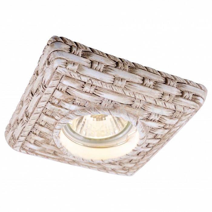 Встраиваемый светильник Arte LampСветильники для натяжных потолков<br>Артикул - AR_A5207PL-1WC,Бренд - Arte Lamp (Италия),Коллекция - Pezzi,Гарантия, месяцы - 24,Время изготовления, дней - 1,Длина, мм - 107,Ширина, мм - 107,Глубина, мм - 38,Размер врезного отверстия, мм - 75,Тип лампы - галогеновая ИЛИсветодиодная [LED],Общее кол-во ламп - 1,Напряжение питания лампы, В - 220,Максимальная мощность лампы, Вт - 50,Лампы в комплекте - отсутствуют,Цвет арматуры - бежевый, белый кремовый,Тип поверхности арматуры - матовый, рельефный,Материал арматуры - гипс,Возможность подлючения диммера - можно, если установить галогеновую лампу,Компоненты, входящие в комплект - 2 типа патрона,Форма и тип колбы - полусферическая с рефлектором,Тип цоколя лампы - GU10,Класс электробезопасности - I,Степень пылевлагозащиты, IP - 20,Диапазон рабочих температур - комнатная температура,Дополнительные параметры - возможна установка галогеновой лампы MR-16 с цоколем G5.3 на 12 V с подключением через трансформатор<br>