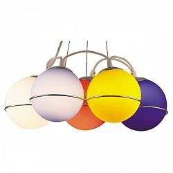 Подвесной светильник Odeon LightСветодиодные<br>Артикул - OD_1345_5,Бренд - Odeon Light (Италия),Коллекция - Ixora,Гарантия, месяцы - 24,Высота, мм - 800,Диаметр, мм - 435,Тип лампы - компактная люминесцентная [КЛЛ] ИЛИнакаливания ИЛИсветодиодная [LED],Общее кол-во ламп - 5,Напряжение питания лампы, В - 220,Максимальная мощность лампы, Вт - 60,Лампы в комплекте - отсутствуют,Цвет плафонов и подвесок - белый, голубой, желтый, красный, синий,Тип поверхности плафонов - матовый,Материал плафонов и подвесок - стекло,Цвет арматуры - хром,Тип поверхности арматуры - глянцевый,Материал арматуры - металл,Возможность подлючения диммера - можно, если установить лампу накаливания,Тип цоколя лампы - E14,Класс электробезопасности - I,Общая мощность, Вт - 300,Степень пылевлагозащиты, IP - 20,Диапазон рабочих температур - комнатная температура<br>