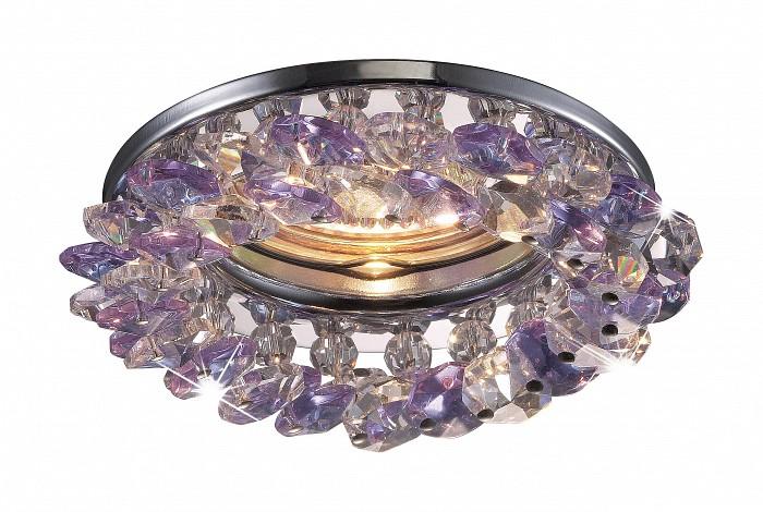 Встраиваемый светильник NovotechВстраиваемые светильники<br>Артикул - NV_369404,Бренд - Novotech (Венгрия),Коллекция - Corona,Гарантия, месяцы - 24,Время изготовления, дней - 1,Глубина, мм - 25,Диаметр, мм - 100,Размер врезного отверстия, мм - 55,Тип лампы - галогеновая ИЛИсветодиодная [LED],Общее кол-во ламп - 1,Напряжение питания лампы, В - 12,Максимальная мощность лампы, Вт - 50,Лампы в комплекте - отсутствуют,Цвет плафонов и подвесок - неокрашенный, розовый,Тип поверхности плафонов - прозрачный,Материал плафонов и подвесок - хрусталь,Цвет арматуры - хром,Тип поверхности арматуры - глянцевый,Материал арматуры - алюминиевое литье,Возможность подлючения диммера - можно, если установить галогеновую лампу,Форма и тип колбы - полусферическая с рефлектором ИЛИполусферическая с радиатором,Тип цоколя лампы - GX5.3,Экономичнее лампы накаливания - на 50%,Класс электробезопасности - III,Напряжение питания, В - 220,Степень пылевлагозащиты, IP - 20,Диапазон рабочих температур - комнатная температура,Дополнительные параметры - возможна установка лампы GX5.3 (MR-16) на 12 В с подключением через трансформатор 12 В<br>