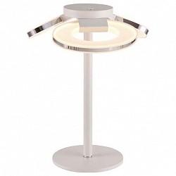 Настольная лампа IDLampПолимерные<br>Артикул - ID_399_3T-LEDWhitechrome,Бренд - IDLamp (Италия),Коллекция - 399,Гарантия, месяцы - 24,Время изготовления, дней - 1,Высота, мм - 440,Диаметр, мм - 350,Тип лампы - светодиодная [LED],Общее кол-во ламп - 3,Напряжение питания лампы, В - 220,Максимальная мощность лампы, Вт - 10,Лампы в комплекте - светодиодные [LED],Цвет плафонов и подвесок - белый,Тип поверхности плафонов - матовый,Материал плафонов и подвесок - акрил,Цвет арматуры - белый, хром,Тип поверхности арматуры - матовый,Материал арматуры - металл,Класс электробезопасности - II,Общая мощность, Вт - 30,Степень пылевлагозащиты, IP - 20,Диапазон рабочих температур - комнатная температура<br>