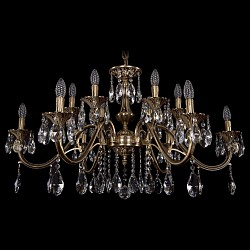 Подвесная люстра Bohemia Ivele CrystalБолее 6 ламп<br>Артикул - BI_1703_12_360_A_FP,Бренд - Bohemia Ivele Crystal (Чехия),Коллекция - 1703,Гарантия, месяцы - 24,Высота, мм - 680,Диаметр, мм - 980,Размер упаковки, мм - 710x710x240,Тип лампы - компактная люминесцентная [КЛЛ] ИЛИнакаливания ИЛИсветодиодная [LED],Общее кол-во ламп - 12,Напряжение питания лампы, В - 220,Максимальная мощность лампы, Вт - 40,Лампы в комплекте - отсутствуют,Цвет плафонов и подвесок - неокрашенный,Тип поверхности плафонов - прозрачный,Материал плафонов и подвесок - хрусталь,Цвет арматуры - золото французское с патиной,Тип поверхности арматуры - глянцевый, рельефный,Материал арматуры - латунь,Возможность подлючения диммера - можно, если установить лампу накаливания,Форма и тип колбы - свеча ИЛИ свеча на ветру,Тип цоколя лампы - E14,Класс электробезопасности - I,Общая мощность, Вт - 480,Степень пылевлагозащиты, IP - 20,Диапазон рабочих температур - комнатная температура,Дополнительные параметры - способ крепления светильника к потолку - на крюке, указана высота светильника без подвеса<br>