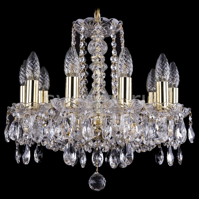 Фото Подвесная люстра Bohemia Ivele Crystal 1402 1402/10/141/G