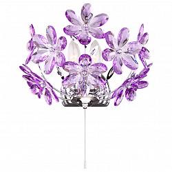 Бра GloboПолимерный плафон<br>Артикул - GB_5142-2W,Бренд - Globo (Австрия),Коллекция - Purple,Гарантия, месяцы - 24,Время изготовления, дней - 1,Высота, мм - 200,Тип лампы - компактная люминесцентная [КЛЛ] ИЛИнакаливания ИЛИсветодиодная [LED],Общее кол-во ламп - 2,Напряжение питания лампы, В - 220,Максимальная мощность лампы, Вт - 40,Лампы в комплекте - отсутствуют,Цвет плафонов и подвесок - сиреневый,Тип поверхности плафонов - прозрачный,Материал плафонов и подвесок - акрил,Цвет арматуры - хром,Тип поверхности арматуры - глянцевый,Материал арматуры - металл,Возможность подлючения диммера - можно, если установить лампу накаливания,Форма и тип колбы - свеча ИЛИ свеча на ветру,Тип цоколя лампы - E14,Класс электробезопасности - I,Общая мощность, Вт - 80,Степень пылевлагозащиты, IP - 20,Диапазон рабочих температур - комнатная температура,Дополнительные параметры - светильник предназначен для использования со скрытой проводкой<br>