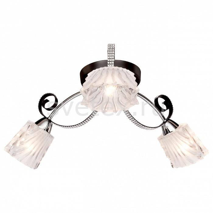 Потолочная люстра SilverLightЛюстра подвесная трехрожковая<br>Артикул - SL_232.59.3,Бренд - SilverLight (Франция),Коллекция - Joy,Гарантия, месяцы - 24,Высота, мм - 200,Диаметр, мм - 580,Тип лампы - компактная люминесцентная [КЛЛ] ИЛИнакаливания ИЛИсветодиодная [LED],Общее кол-во ламп - 3,Напряжение питания лампы, В - 220,Максимальная мощность лампы, Вт - 60,Лампы в комплекте - отсутствуют,Цвет плафонов и подвесок - неокрашенный,Тип поверхности плафонов - прозрачный, рельефный,Материал плафонов и подвесок - стекло,Цвет арматуры - венге, хром,Тип поверхности арматуры - глянцевый, матовый,Материал арматуры - металл,Количество плафонов - 3,Возможность подлючения диммера - можно, если установить лампу накаливания,Тип цоколя лампы - E14,Класс электробезопасности - I,Общая мощность, Вт - 180,Степень пылевлагозащиты, IP - 20,Диапазон рабочих температур - комнатная температура,Дополнительные параметры - способ крепления светильника на потолке - на монтажной пластине<br>