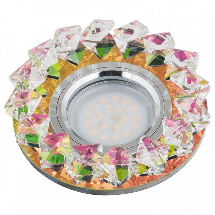Встраиваемый светильник UnielСтеклянные<br>Примечание - многоцветный,Артикул - UL_10551,Бренд - Uniel (Китай),Коллекция - Peonia,Гарантия, месяцы - 24,Высота, мм - 40,Выступ, мм - 20,Глубина, мм - 20,Диаметр, мм - 100,Размер врезного отверстия, мм - d60,Тип лампы - светодиодная (LED), галогеновая,Общее кол-во ламп - 1,Напряжение питания лампы, В - 12,Максимальная мощность лампы, Вт - 50,Лампы в комплекте - отсутствуют,Цвет плафонов и подвесок - разноцветный,Тип поверхности плафонов - прозрачный,Материал плафонов и подвесок - стекло,Цвет арматуры - хром,Тип поверхности арматуры - глянцевый,Материал арматуры - металл,Возможность подлючения диммера - можно, если установить галогеновую лампу,Компоненты, входящие в комплект - Трансформатор 12 В,Форма и тип колбы - полусферическая с рефлектором,Тип цоколя лампы - GU5.3,Класс электробезопасности - I,Напряжение питания, В - 220,Степень пылевлагозащиты, IP - 20,Диапазон рабочих температур - комнатная температура<br>