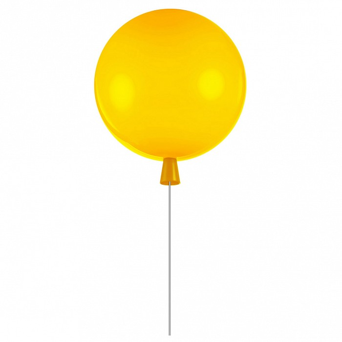 Накладной светильник Loft itКруглые<br>Артикул - LF_5055C_M_yellow,Бренд - Loft it (Испания),Коллекция - 5055,Гарантия, месяцы - 24,Высота, мм - 300,Диаметр, мм - 300,Тип лампы - компактная люминесцентная [КЛЛ] ИЛИсветодиодная [LED],Общее кол-во ламп - 1,Напряжение питания лампы, В - 220,Максимальная мощность лампы, Вт - 13,Лампы в комплекте - отсутствуют,Цвет плафонов и подвесок - желтый,Тип поверхности плафонов - матовый,Материал плафонов и подвесок - акрил,Цвет арматуры - белый,Тип поверхности арматуры - матовый,Материал арматуры - металл,Количество плафонов - 1,Наличие выключателя, диммера или пульта ДУ - выключатель шнуровой,Возможность подлючения диммера - нельзя,Тип цоколя лампы - E27,Класс электробезопасности - I,Степень пылевлагозащиты, IP - 20,Диапазон рабочих температур - комнатная температура,Дополнительные параметры - способ крепления светильника к потолку – на монтажной пластине<br>