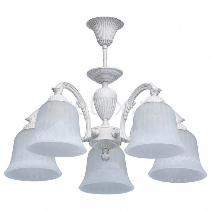 Люстра на штанге MW-LightЛюстры<br>Артикул - MW_450014805,Бренд - MW-Light (Германия),Коллекция - Ариадна 16-17,Гарантия, месяцы - 24,Высота, мм - 360,Диаметр, мм - 520,Тип лампы - компактная люминесцентная [КЛЛ] ИЛИнакаливания ИЛИсветодиодная [LED],Общее кол-во ламп - 5,Напряжение питания лампы, В - 220,Максимальная мощность лампы, Вт - 60,Лампы в комплекте - отсутствуют,Цвет плафонов и подвесок - белый,Тип поверхности плафонов - матовый,Материал плафонов и подвесок - стекло,Цвет арматуры - белый,Тип поверхности арматуры - матовый, рельефный,Материал арматуры - металл,Количество плафонов - 5,Возможность подлючения диммера - можно, если установить лампу накаливания,Тип цоколя лампы - E27,Класс электробезопасности - I,Общая мощность, Вт - 300,Степень пылевлагозащиты, IP - 20,Диапазон рабочих температур - комнатная температура,Дополнительные параметры - способ крепления к потолку - на монтажной пластине<br>