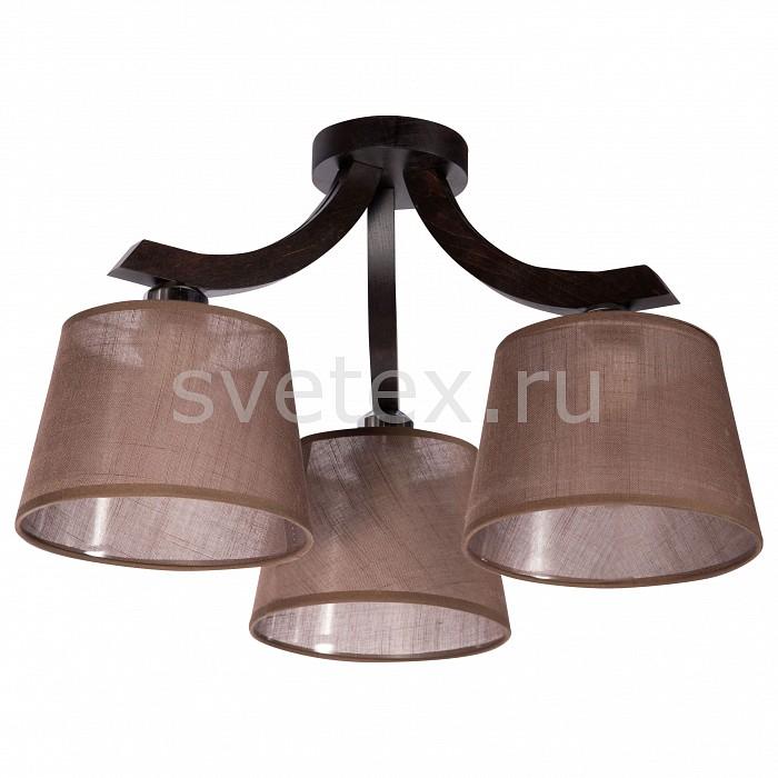 Потолочная люстра ДубравияСветильники<br>Артикул - DU_175-41-23,Бренд - Дубравия (Россия),Коллекция - Морис,Гарантия, месяцы - 24,Высота, мм - 320,Диаметр, мм - 460,Размер упаковки, мм - 520x295x160,Тип лампы - компактная люминесцентная [КЛЛ] ИЛИнакаливания ИЛИсветодиодная [LED],Общее кол-во ламп - 3,Напряжение питания лампы, В - 220,Максимальная мощность лампы, Вт - 60,Лампы в комплекте - отсутствуют,Цвет плафонов и подвесок - коричневый,Тип поверхности плафонов - прозрачный,Материал плафонов и подвесок - текстиль,Цвет арматуры - венге,Тип поверхности арматуры - матовый,Материал арматуры - металл,Количество плафонов - 3,Возможность подлючения диммера - можно, если установить лампу накаливания,Тип цоколя лампы - E27,Класс электробезопасности - I,Общая мощность, Вт - 180,Степень пылевлагозащиты, IP - 20,Диапазон рабочих температур - комнатная температура,Дополнительные параметры - способ крепления светильника к потолку - на монтажной пластине<br>