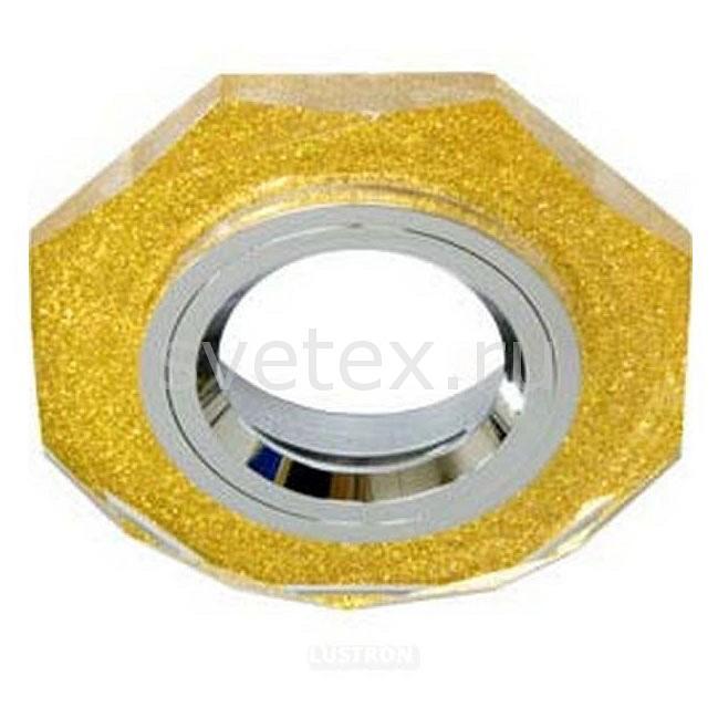 Встраиваемый светильник FeronПотолочные светильники<br>Артикул - FE_19700,Бренд - Feron (Китай),Коллекция - 8020-2,Гарантия, месяцы - 24,Глубина, мм - 25,Диаметр, мм - 90,Размер врезного отверстия, мм - 55,Тип лампы - галогеновая ИЛИсветодиодная [LED],Общее кол-во ламп - 1,Напряжение питания лампы, В - 12,Максимальная мощность лампы, Вт - 50,Лампы в комплекте - отсутствуют,Цвет арматуры - золото,Тип поверхности арматуры - глянцевый, прозрачный,Материал арматуры - металл, стекло,Возможность подлючения диммера - можно, если установить галогеновую лампу,Необходимые компоненты - трансформатор 12В,Компоненты, входящие в комплект - нет,Форма и тип колбы - полусферическая с рефлектором,Тип цоколя лампы - GU5.3,Класс электробезопасности - I,Напряжение питания, В - 220,Степень пылевлагозащиты, IP - 20,Диапазон рабочих температур - комнатная температура<br>