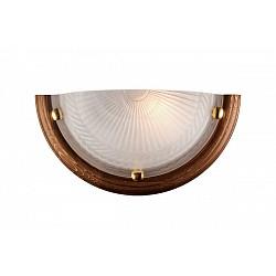 Накладной светильник SonexСветодиодные<br>Артикул - SN_016,Бренд - Sonex (Россия),Коллекция - Glass,Гарантия, месяцы - 24,Высота, мм - 180,Тип лампы - компактная люминесцентная [КЛЛ] ИЛИнакаливания ИЛИсветодиодная [LED],Общее кол-во ламп - 1,Напряжение питания лампы, В - 220,Максимальная мощность лампы, Вт - 100,Лампы в комплекте - отсутствуют,Цвет плафонов и подвесок - белый с рисунком,Тип поверхности плафонов - рельефный, матовый,Материал плафонов и подвесок - стекло,Цвет арматуры - дуб, золото,Тип поверхности арматуры - глянцевый,Материал арматуры - дерево, металл,Возможность подлючения диммера - можно, если установить лампу накаливания,Тип цоколя лампы - E27,Класс электробезопасности - I,Степень пылевлагозащиты, IP - 20,Диапазон рабочих температур - комнатная температура<br>
