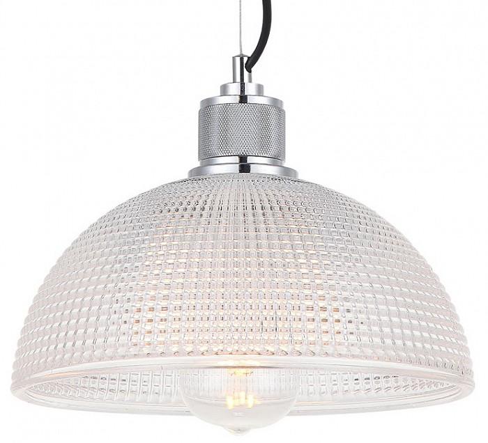Подвесной светильник LussoleСветодиодные<br>Артикул - LSP-0218,Бренд - Lussole (Италия),Коллекция - LSP-021,Гарантия, месяцы - 24,Высота, мм - 1500,Диаметр, мм - 280,Тип лампы - компактная люминесцентная [КЛЛ] ИЛИнакаливания ИЛИсветодиодная [LED],Общее кол-во ламп - 1,Напряжение питания лампы, В - 220,Максимальная мощность лампы, Вт - 60,Лампы в комплекте - отсутствуют,Цвет плафонов и подвесок - неокрашенный,Тип поверхности плафонов - прозрачный, рельефный,Материал плафонов и подвесок - стекло,Цвет арматуры - хром,Тип поверхности арматуры - глянцевый,Материал арматуры - металл,Количество плафонов - 1,Возможность подлючения диммера - можно, если установить лампу накаливания,Тип цоколя лампы - E27,Класс электробезопасности - I,Степень пылевлагозащиты, IP - 20,Диапазон рабочих температур - комнатная температура,Дополнительные параметры - способ крепления светильника к потолку - на монтажной пластине, регулируется по высоте<br>