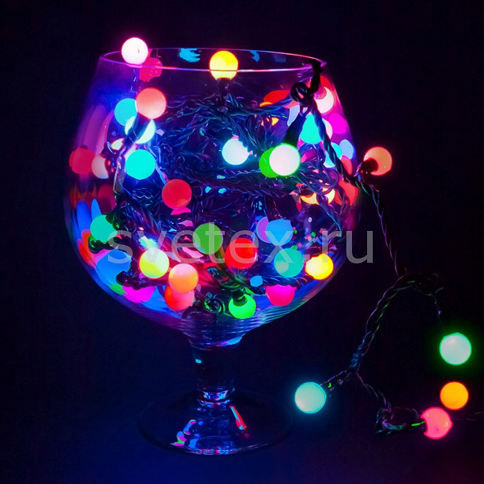 Фото Гирлянда Супернить Неон-Найт LED - шарики 303-509-6