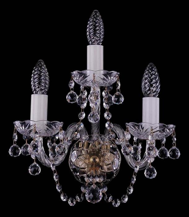 Фото Бра Bohemia Ivele Crystal 1400 1400/3/Pa/Balls