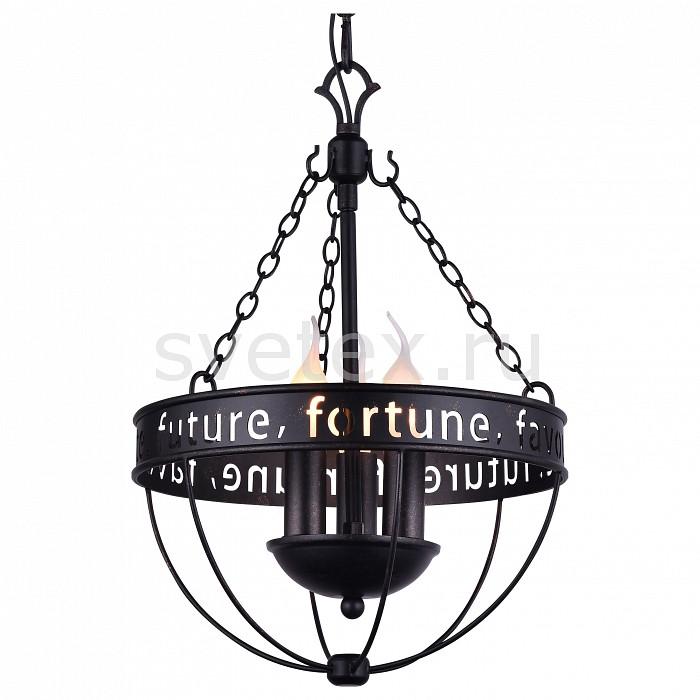 Подвесная люстра FavouriteЛюстры<br>Артикул - FV_1502-3P,Бренд - Favourite (Германия),Коллекция - Fortune,Гарантия, месяцы - 24,Высота, мм - 430-1430,Диаметр, мм - 310,Тип лампы - компактная люминесцентная [КЛЛ] ИЛИнакаливания ИЛИсветодиодная [LED],Общее кол-во ламп - 3,Напряжение питания лампы, В - 220,Максимальная мощность лампы, Вт - 40,Лампы в комплекте - отсутствуют,Цвет арматуры - черный с патиной,Тип поверхности арматуры - матовый,Материал арматуры - металл,Возможность подлючения диммера - можно, если установить лампу накаливания,Форма и тип колбы - свеча ИЛИ свеча на ветру,Тип цоколя лампы - E14,Класс электробезопасности - I,Общая мощность, Вт - 120,Степень пылевлагозащиты, IP - 20,Диапазон рабочих температур - комнатная температура,Дополнительные параметры - способ крепления светильника к потолку – на монтажной пластине, регулируется по высоте<br>
