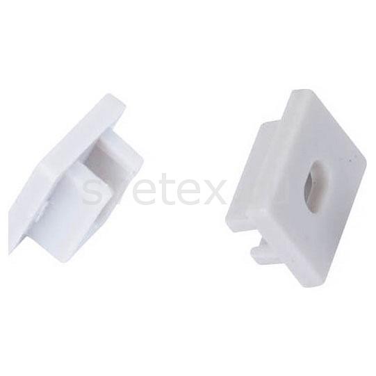 Заглушка Donoluxкомплектующие для люстр<br>Артикул - do_cap_18509_2,Бренд - Donolux (Китай),Коллекция - 1850,Гарантия, месяцы - 24,Цвет - белый,Материал - полимер,Дополнительные параметры - боковая глухая заглушка для профиля DL18509<br>