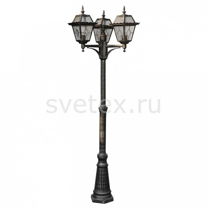 Фото Фонарный столб Arte Lamp Paris A1357PA-3BS