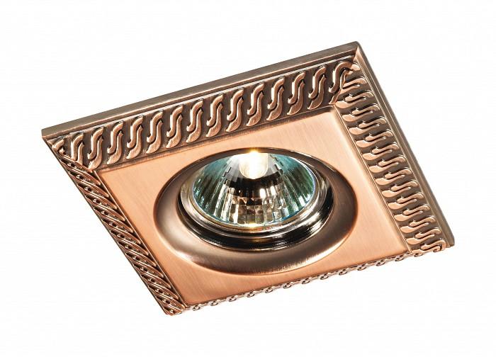 Встраиваемый светильник NovotechКвадратные<br>Артикул - NV_369656,Бренд - Novotech (Венгрия),Коллекция - Wind,Гарантия, месяцы - 24,Время изготовления, дней - 1,Длина, мм - 110,Ширина, мм - 110,Глубина, мм - 15,Размер врезного отверстия, мм - 80,Тип лампы - галогеновая ИЛИсветодиодная [LED],Общее кол-во ламп - 1,Напряжение питания лампы, В - 12,Максимальная мощность лампы, Вт - 50,Лампы в комплекте - отсутствуют,Цвет арматуры - красная латунь,Тип поверхности арматуры - глянцевый,Материал арматуры - алюминиевое литье,Возможность подлючения диммера - можно,Форма и тип колбы - полусферическая с рефлектором ИЛИполусферическая с радиатором,Тип цоколя лампы - GX5.3,Экономичнее лампы накаливания - на 50%,Класс электробезопасности - I,Напряжение питания, В - 220,Степень пылевлагозащиты, IP - 20,Диапазон рабочих температур - комнатная температура,Дополнительные параметры - возможна установка лампы GX5.3 (MR-16) на 12 В с подключением через трансформатор 12 В<br>