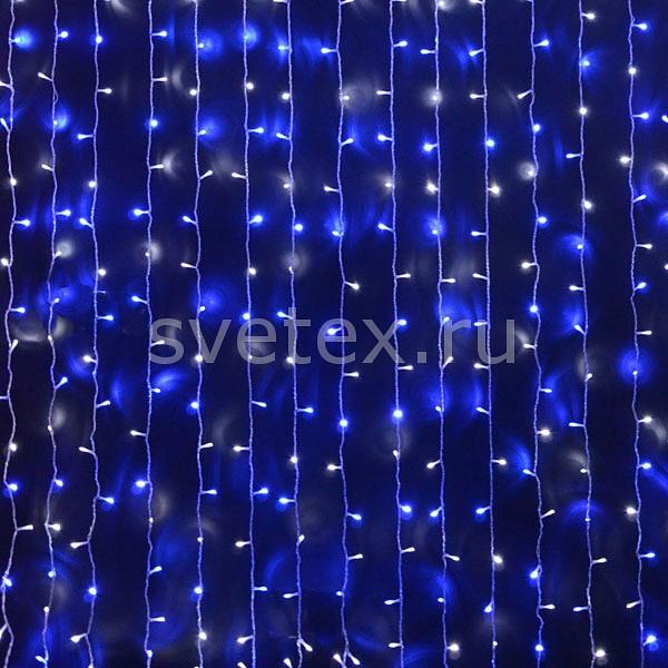 Занавес световой RichLEDЗанавесы световые<br>Артикул - RL_RL-CS2_1.5-T_BW,Бренд - RichLED (Россия),Коллекция - RL-CS2_1.5,Время изготовления, дней - 1,Ширина, мм - 2000,Высота, мм - 1500,Ширина - 2 м,Высота - 1.5 м,Тип лампы - светодиодная [LED],Общее кол-во ламп - 300,Напряжение питания лампы, В - 220,Цвет лампы - белый, синий,Лампы в комплекте - светодиодные [LED],Число гирлянд, соединенных вместе - 10,Необходимые компоненты - блок питания RL_RL-220AC_DC-2A-W,Компоненты, входящие в комплект - нет,Цвет провода - прозрачный,Класс электробезопасности - I,Напряжение питания, В - 220,Общая мощность, Вт - 18,Степень пылевлагозащиты, IP - 54,Диапазон рабочих температур - от -40^C до +40^C,Дополнительные параметры - облегченный;не предусмотрено отсоединение нитей от занавеса<br>