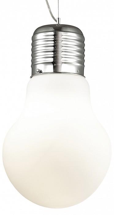 Подвесной светильник Odeon LightБарные<br>Артикул - OD_2872_1,Бренд - Odeon Light (Италия),Коллекция - Bulb,Гарантия, месяцы - 24,Высота, мм - 360-1400,Диаметр, мм - 210,Тип лампы - компактная люминесцентная [КЛЛ] ИЛИнакаливания ИЛИсветодиодная [LED],Общее кол-во ламп - 1,Напряжение питания лампы, В - 220,Максимальная мощность лампы, Вт - 60,Лампы в комплекте - отсутствуют,Цвет плафонов и подвесок - белый,Тип поверхности плафонов - матовый,Материал плафонов и подвесок - стекло,Цвет арматуры - хром,Тип поверхности арматуры - глянцевый,Материал арматуры - металл,Количество плафонов - 1,Возможность подлючения диммера - можно, если установить лампу накаливания,Тип цоколя лампы - E27,Класс электробезопасности - I,Степень пылевлагозащиты, IP - 20,Диапазон рабочих температур - комнатная температура,Дополнительные параметры - способ крепления светильника на потолке - на крюке, регулируется по высоте<br>