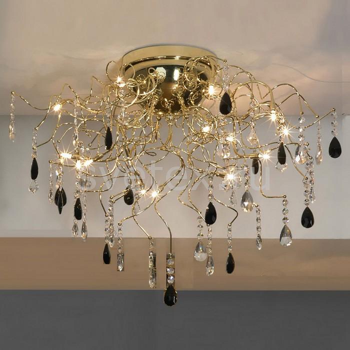 Потолочная люстра LussoleБолее 6 ламп<br>Артикул - LSC-2913-15,Бренд - Lussole (Италия),Коллекция - Benevento,Гарантия, месяцы - 24,Время изготовления, дней - 1,Высота, мм - 540,Диаметр, мм - 700,Тип лампы - галогеновая,Общее кол-во ламп - 15,Напряжение питания лампы, В - 12,Максимальная мощность лампы, Вт - 20,Цвет лампы - белый теплый,Лампы в комплекте - галогеновые G4,Цвет плафонов и подвесок - неокрашенный, черный,Тип поверхности плафонов - глянцевый,Материал плафонов и подвесок - хрусталь,Цвет арматуры - золото,Тип поверхности арматуры - глянцевый,Материал арматуры - сталь,Возможность подлючения диммера - нельзя,Компоненты, входящие в комплект - трансформатор 12 В,Форма и тип колбы - пальчиковая,Тип цоколя лампы - G4,Цветовая температура, K - 2800 - 3200 K,Экономичнее лампы накаливания - на 50%,Класс электробезопасности - III,Напряжение питания, В - 220,Общая мощность, Вт - 300,Степень пылевлагозащиты, IP - 20,Диапазон рабочих температур - комнатная температура<br>