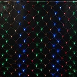 Сеть световая RichLEDСети световые<br>Артикул - RL_RL-N2_1.5-T_M,Бренд - RichLED (Россия),Коллекция - RL-N2,Высота, мм - 1500,Общее кол-во ламп - 192,Напряжение питания лампы, В - 220,Лампы в комплекте - светодиодные (LED),Класс электробезопасности - I,Общая мощность, Вт - 15,Степень пылевлагозащиты, IP - 54,Диапазон рабочих температур - от -40^C до +40^C,Дополнительные параметры - можно растянуть или сжать до нужного размера<br>