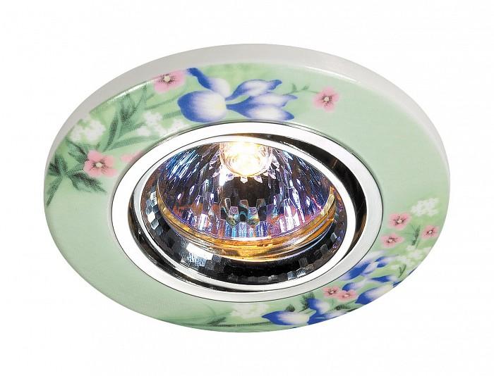 Встраиваемый светильник NovotechКруглые<br>Артикул - NV_369554,Бренд - Novotech (Венгрия),Коллекция - Ceramic,Гарантия, месяцы - 24,Время изготовления, дней - 1,Глубина, мм - 20,Диаметр, мм - 97,Размер врезного отверстия, мм - 65,Тип лампы - галогеновая ИЛИсветодиодная [LED],Общее кол-во ламп - 1,Напряжение питания лампы, В - 12,Максимальная мощность лампы, Вт - 50,Лампы в комплекте - отсутствуют,Цвет плафонов и подвесок - разноцветный,Тип поверхности плафонов - матовый,Материал плафонов и подвесок - керамика,Цвет арматуры - хром,Тип поверхности арматуры - глянцевый,Материал арматуры - алюминиевое литье,Количество плафонов - 1,Возможность подлючения диммера - можно, если установить галогеновую лампу,Форма и тип колбы - полусферическая с рефлектором ИЛИполусферическая с радиатором,Тип цоколя лампы - GX5.3,Экономичнее лампы накаливания - на 50%,Угол падения света, град - 90,Класс электробезопасности - I,Напряжение питания, В - 220,Степень пылевлагозащиты, IP - 20,Диапазон рабочих температур - комнатная температура,Дополнительные параметры - поворотный светильник, возможна установка лампы GX5.3 (MR-16) на 12 В с подключением через трансформатор 12 В<br>