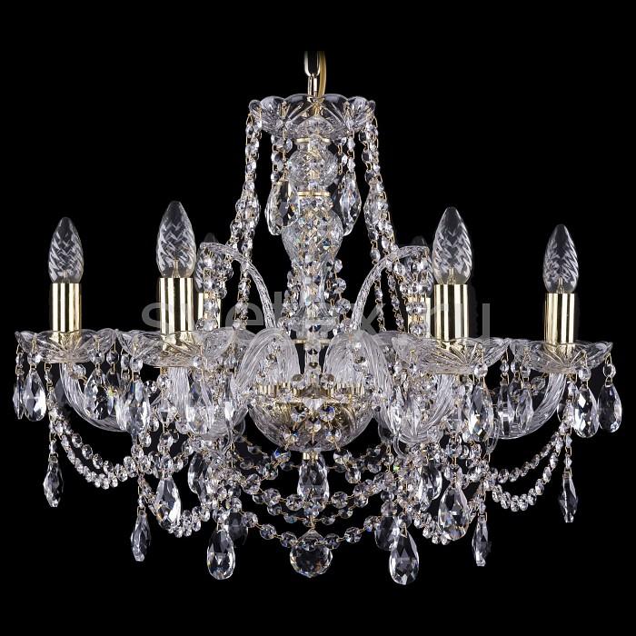 Подвесная люстра Bohemia Ivele Crystal5 или 6 ламп<br>Артикул - BI_1411_6_195_G,Бренд - Bohemia Ivele Crystal (Чехия),Коллекция - 1411,Гарантия, месяцы - 24,Высота, мм - 450,Диаметр, мм - 570,Размер упаковки, мм - 510x510x200,Тип лампы - компактная люминесцентная [КЛЛ] ИЛИнакаливания ИЛИсветодиодная [LED],Общее кол-во ламп - 6,Напряжение питания лампы, В - 220,Максимальная мощность лампы, Вт - 40,Лампы в комплекте - отсутствуют,Цвет плафонов и подвесок - неокрашенный,Тип поверхности плафонов - прозрачный,Материал плафонов и подвесок - хрусталь,Цвет арматуры - золото, неокрашенный,Тип поверхности арматуры - глянцевый, прозрачный, рельефный,Материал арматуры - металл, стекло,Возможность подлючения диммера - можно, если установить лампу накаливания,Форма и тип колбы - свеча ИЛИ свеча на ветру,Тип цоколя лампы - E14,Класс электробезопасности - I,Общая мощность, Вт - 240,Степень пылевлагозащиты, IP - 20,Диапазон рабочих температур - комнатная температура,Дополнительные параметры - способ крепления светильника к потолку - на крюке, указана высота светильника без подвеса<br>